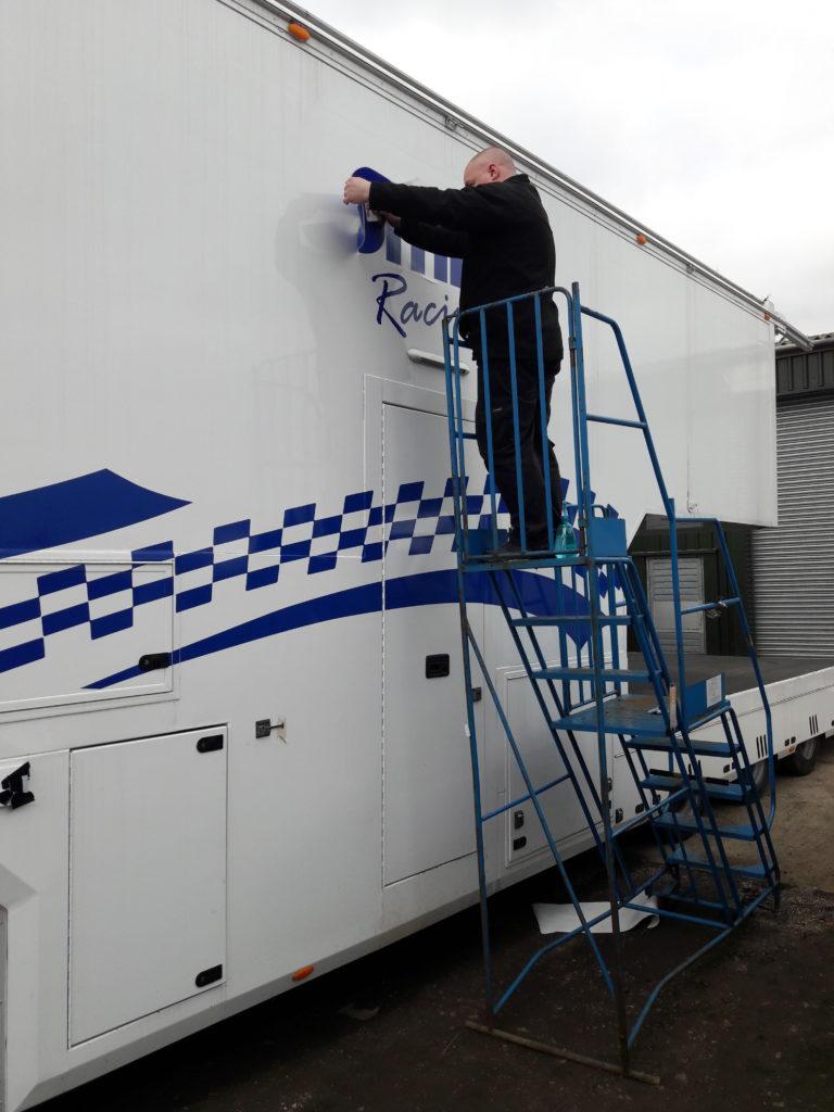 The Studio sponsor British Truck Racing Team… Smith Racing!